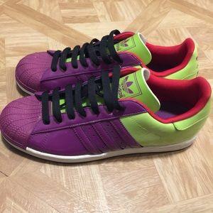 Adidas superstar men's shoes size 12